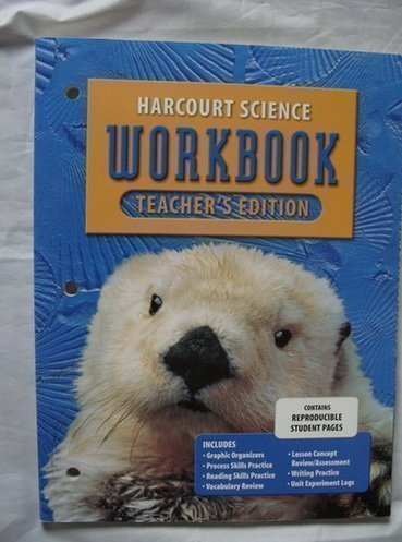 Harcourt Science Workbook: Grade 1,