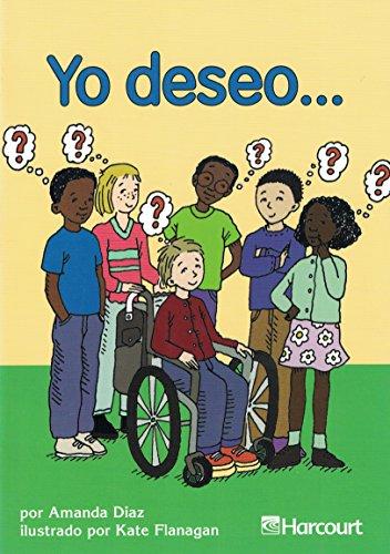 9780153240522: Harcourt School Publishers Trofeos: Below Level Individual Reader Grade 3 Yo Deseo (Spanish Edition)