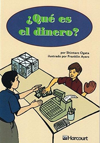 Harcourt School Publishers Trofeos: Below Level Individual Reader Grade 3 Que Es El Dinro (Spanish ...