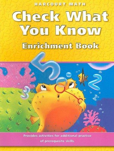 Check What You Know : Enrichment Books: Evan A. Maletsky;