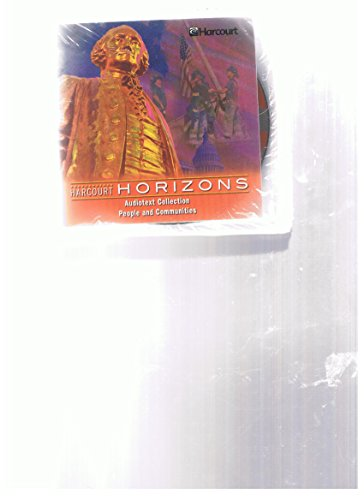 9780153245138: People and Communities Audiotext Collection (Harcourt Horizons)