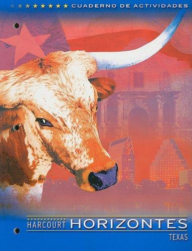 9780153245541: Harcourt School Publishers Horizontes Texas: Activity Book Grade 4 (Spanish Edition)