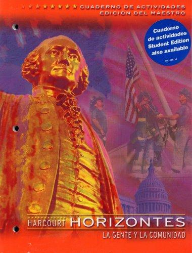 9780153245572: Horizontes La Gente Y La Comunidad Cuaderno De Actividades (VOLUME 3)