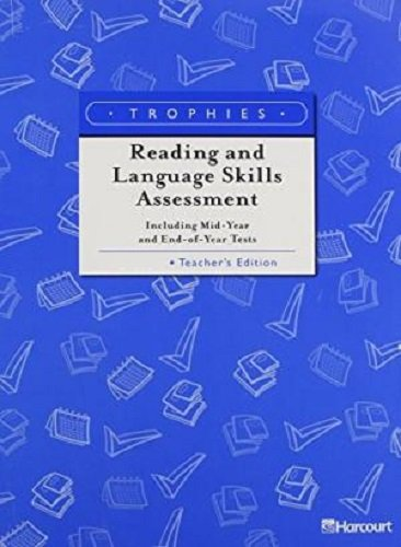 9780153249662: Trophies: Reading and Language Skills Assessment, Grade 6, Teacher's Edition (Harcourt School Publishers Trophies)