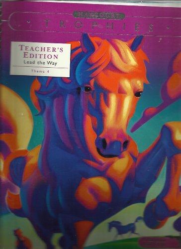 9780153250040: Harcourt Trophies Florida Teachers Edition (Theme 4)
