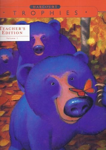 9780153250194: Harcourt Trophies Kindergarten, Grade K, Vol. 1, Teacher's Edition