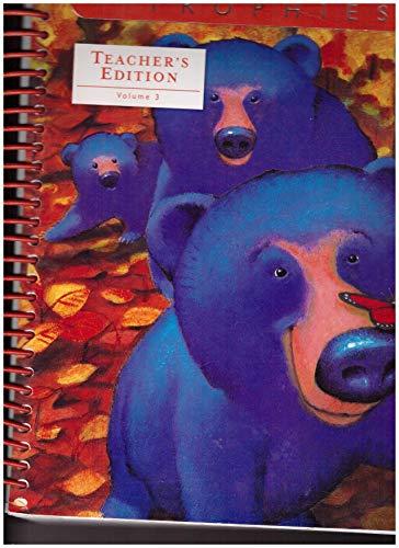 9780153250217: Harcourt Trophies, Kindergarten Volume 3, Teacher's Edition