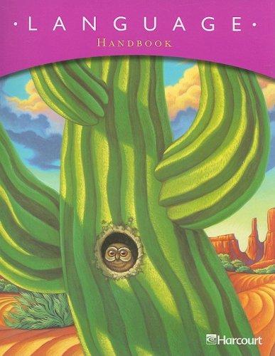 Trophies: Language Handbook Grade 4: HARCOURT SCHOOL PUBLISHERS