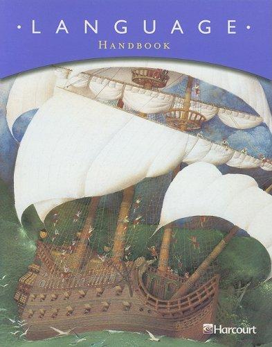 9780153250682: Language Handbook, Grade 6