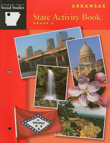 9780153252082: Harcourt Brace Social Studies: Arkansas State Activity Book, Grade 5