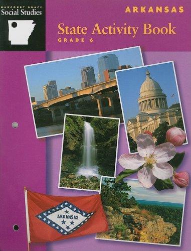 9780153252099: Harcourt Brace Social Studies Arkansas State Activity Book, Grade 6