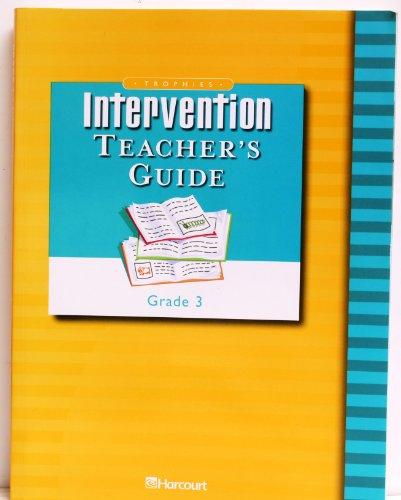 9780153253454: Trophies: Intervention Teacher's Guide, Grade 3