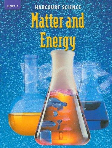 9780153253997: Harcourt Science: Unit Books:Unit E Grade 6 2002