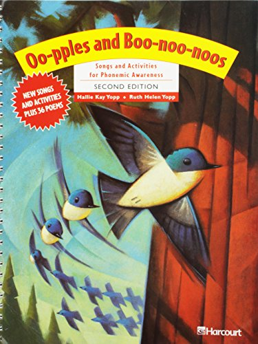 9780153257872: Oo-pples and Boo-noo-noos: Songs and Activites for Phonemic Awareness, 2nd Edition (Trophies)