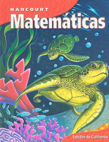 9780153258145: Harcourt School Publishers Matematicas: Student Edition Grade 4 Nat 2002 (Matematicas 02 Y012)