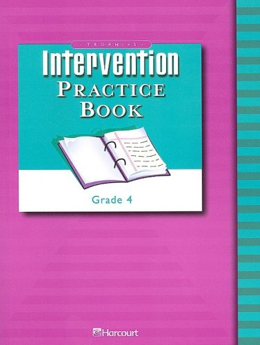 9780153261473: Trophies: Intervention Practice Book (consumable) Grade 4
