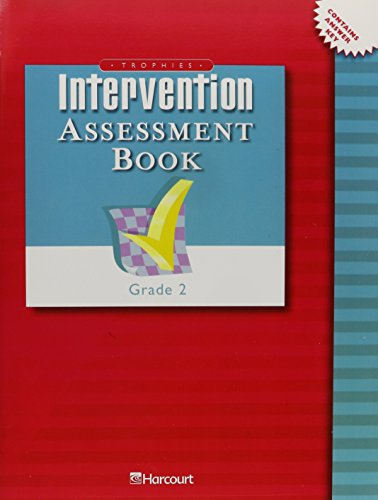 Trophies: Intervention Assessment Book Grade 2: HARCOURT SCHOOL PUBLISHERS