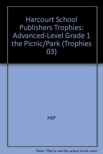 Harcourt School Publishers Trophies: Advanced-Level Grade 1