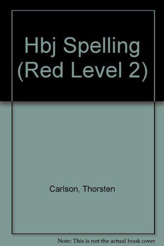 9780153270789: HBJ Spelling, Signature Edition (Red, Level 2)
