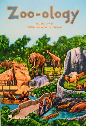 9780153277795: Harcourt School Publishers Trophies: ELL Reader Grade 4 Zoo-ology