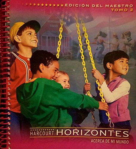 9780153284144: Te Gr 1 Vol 2 Horizontes 2003 (Spanish Edition)