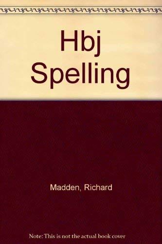 9780153285608: Hbj Spelling