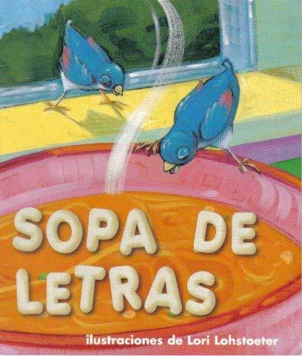 9780153325038: Harcourt School Publishers Trofeos: Library Book Grade K Sopas De Letras (Spanish Edition)