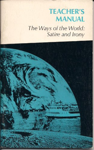 9780153335310 The Ways Of The World Satire And Irony Teacher S