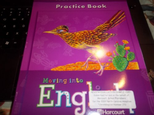 9780153342820: Harcourt School Publishers Moving Into English: Teacher Edition Practice Book Gr5