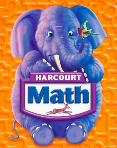 Harcourt Math, Grade K: Maletsky, Evan M;