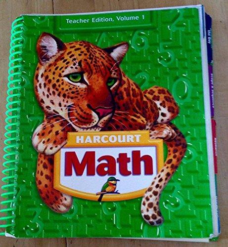 9780153347559: Harcourt Math, Grade 5 Vol. 1, Teacher Edition