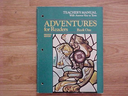 9780153348624: HBJ Adventures for Readers Book One Pegasus Edition Teacher's Manual With Answer Key to Tests