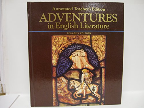 9780153348730: Adventures in English Literature Annotated Teacher's Edition