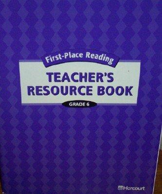 9780153352188: First-Place Reading: Teacher's Resource Book Grade 6 (Open Seas)