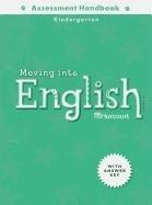9780153354823: Harcourt Moving into English: Assessment Handbook, Kindergarten