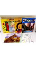 9780153355035: Moving Into English: Literature Big Book Collection (6 titles) Grade K