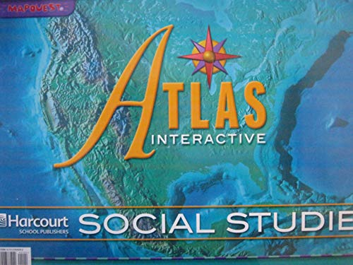 9780153364099: Harcourt Horizons: Interactive Atlas Grades K-6