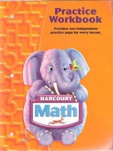 9780153364723: Harcourt Math: Practice Workbook Grade K