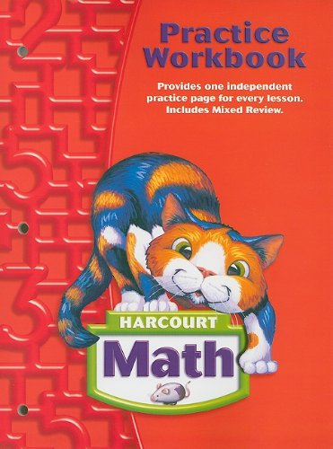 9780153364747: Harcourt Math Practice Workbook, Grade 2