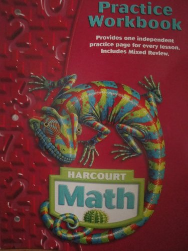 9780153364785: Harcourt School Publishers Math: Practice Workbook Student Edition Grade 6