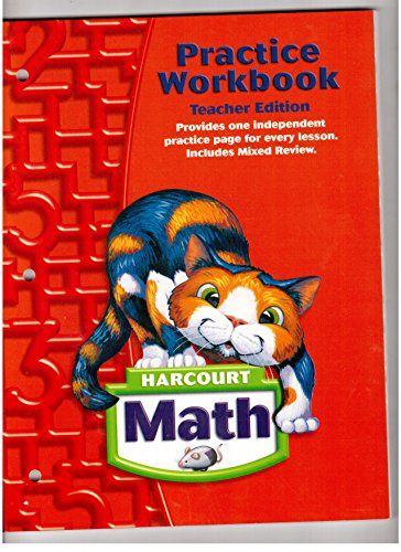9780153364815: Harcourt Math: Practice Workbook Grade 2, Teacher Edition (Harcourt School Publishers Math)