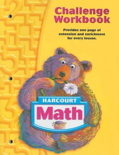 9780153365034: Harcourt Math: Challenge Workbook Grade 1