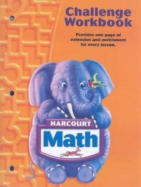9780153365133: Harcourt Math: Challenge Workbook Teacher's Edition Grade K