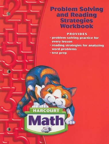 9780153365232: Harcourt Math: Problem Solving and Reading Strategies Workbook Grade 2