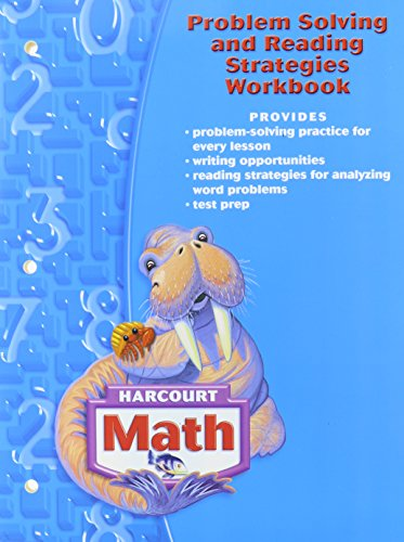 9780153365249: Harcourt School Publishers Math: Problem Solving/Reading Strategies Workbook Grade 3