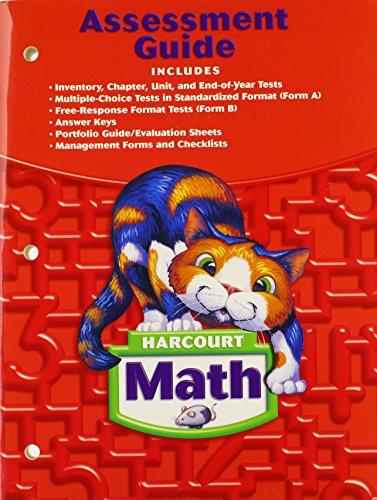 9780153365386: Harcourt Math: Assessment Guide Grade 2