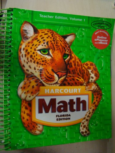 9780153367083: Harcourt Math, Grade 5, Teachers Edition (3 Volumes)