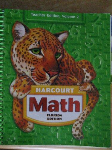 9780153367090: Harcourt Math Grade 5 Florida Teachers Edition Vol 2