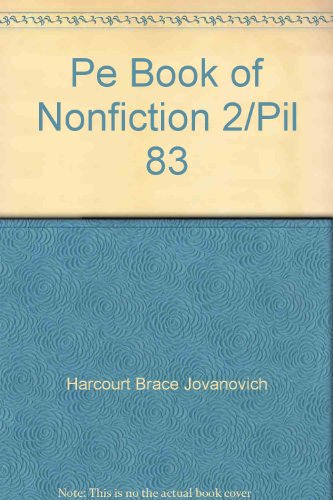 Perspectives in Literature: Book of Non-Fiction 2: Jovanovich, Harcourt Brace