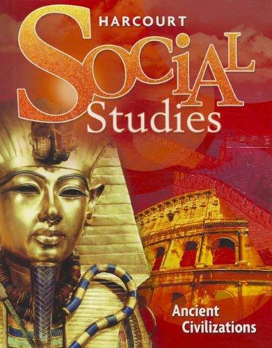 9780153368226: Harcourt Social Studies: Student Edition Grade 7 Ancient Civilizations 2007